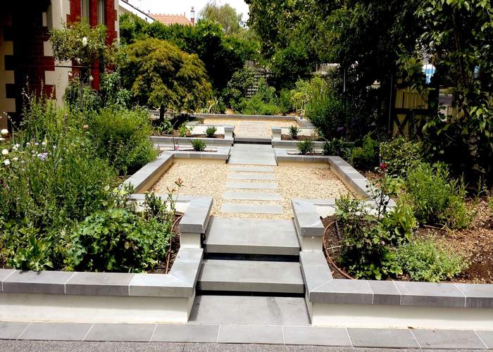 Garden landscape design porirua